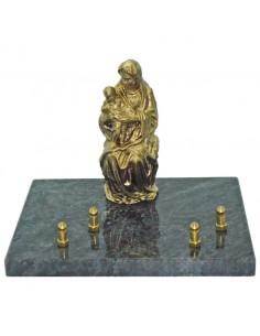 Plaque Vierge à l'enfant