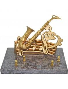 Plaque musique saxophone