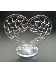 Coeur d'ange sur socle crystal