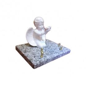 Plaque Ange et colombe